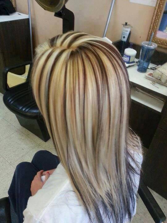 Ciemne Blond Pasemka Jpg Pictures to pin on Pinterest