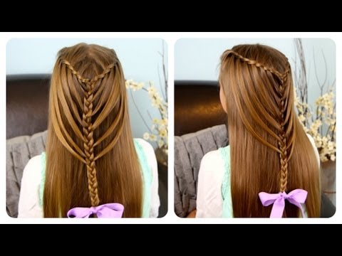 Waterfall Twists Into Mermaid Braid Cute Girls Hairstyles
