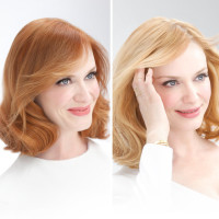 Celebrity Changes | Christina Hendricks | Hairstyles | Hair-photo.com