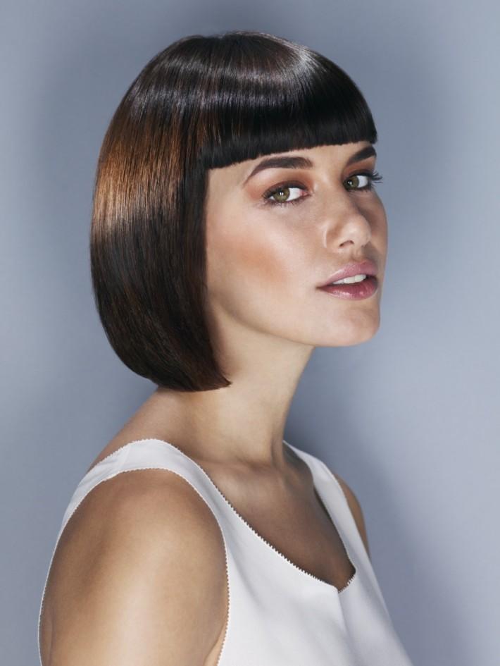 Fryzura Kleopatra Włosy Brązowe | Fryzury - Galeria
