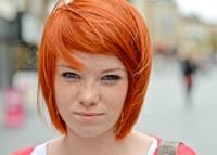pomarańczowy rudy