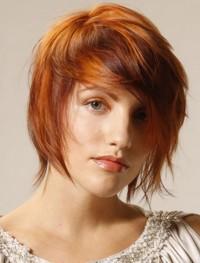rude cieniowane włosy
