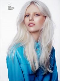 białe włosy, skandynawski blond, platynowy blond