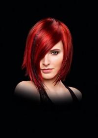 piękne czerwone włosy