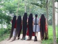 naturalne super długie włosy