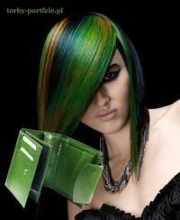 zielone włosy letino.pl