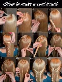 romantyczny niesamowity pomysł na fryzurę