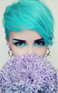 szmaragdowe włosy