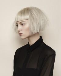 skandynawski blond, fryzura na Kleopatrę
