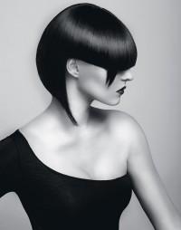 asymetryczna fryzura