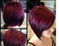 kolor włosów: burgund