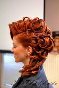 fryzura ślubna, fryzura na wesele