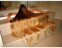 super długie włosy blond