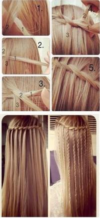 romantyczna fryzura z warkoczy