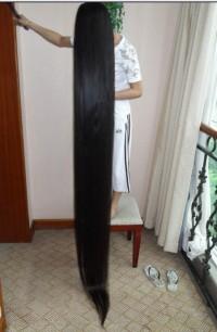 totalnie długie włosy