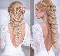 roamntyczna fryzura ślubna
