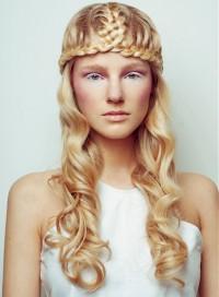 złoty blond