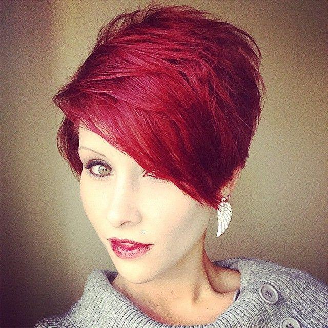 Kr 243 Tkie Czerwone Włosy Fryzury Galeria
