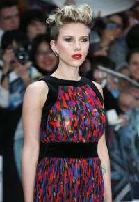 Scarlett Johansson – fryzury celebrytów