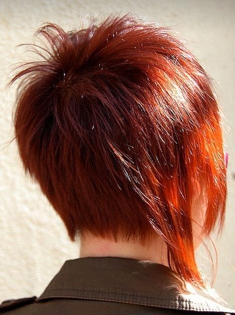 Krótkie Cieniowane Włosy Fryzury Galeria