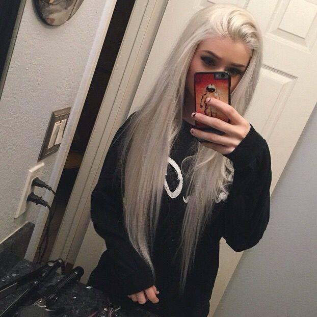 Biały blond