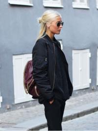 blond pół kok