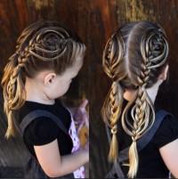 super fryzurka dla dziewczynki
