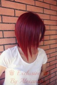 czerwony bob