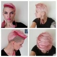 Różowe włosy, truskawkowy blond