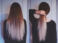 Już nie ombre, tylko dwu-kolorowe włosy. Fajnie, czy nie bardzo?