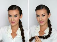 Pielęgnacja włosów ELEGANCKIE FRYZURY DO PRACY, DO SZKOŁY I NA CO DZIEŃ. 4 PROSTE UPIĘCIA WŁOSÓW ...