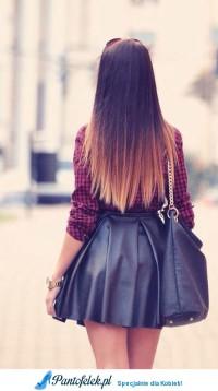 Super stylówka i mega fajne włosy!