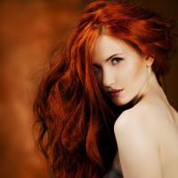 sexy rude włosy