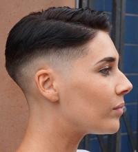 włosy krótkie, fryzura damska