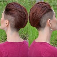 krótka fryzura na lato