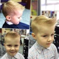 fryzura dla chłopczyka