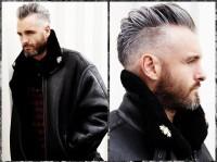 modna fryzura dla dojrzałego faceta