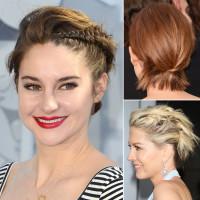 pomysł na uczesanie dla krótkich włosów