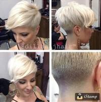 super modna krótka fryzura