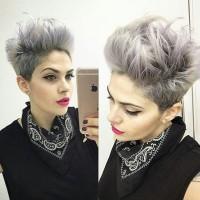 super modne krótkie włosy